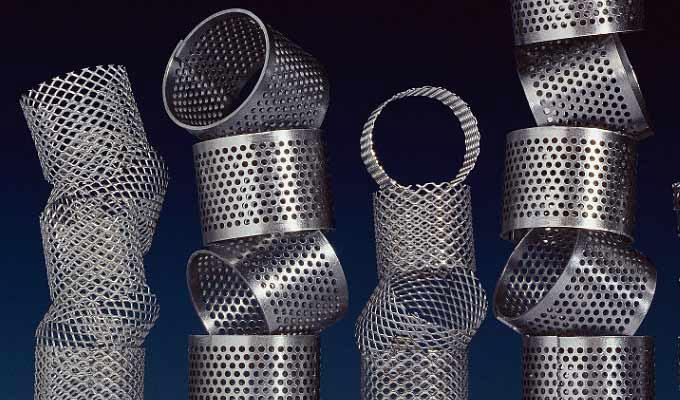 Tôles perforées filtration