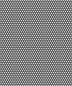 Tôle perforée R25T35-600x600